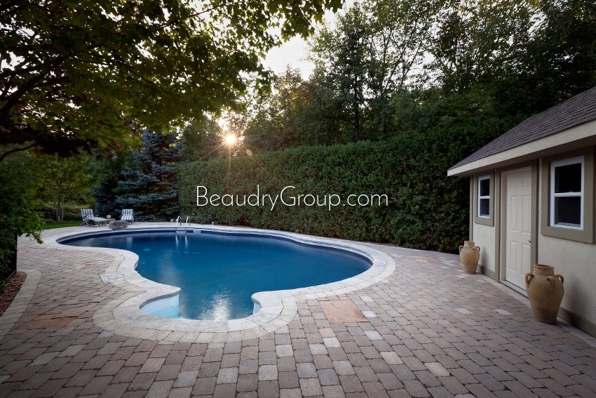 Beaudry landscaper hamilton burlington for Pool design hamilton