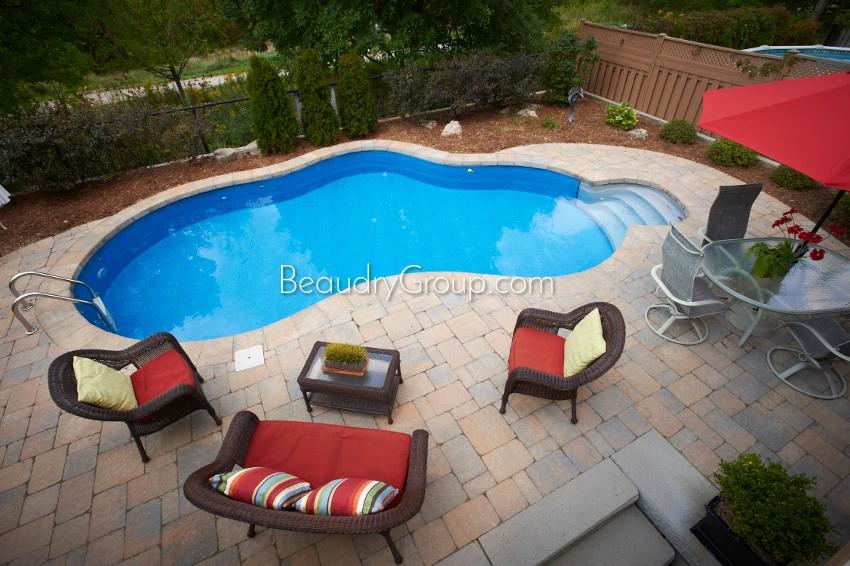 Beaudry landscaper hamilton burlington for Pool design tool